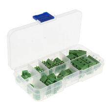 40x Screw Terminal Block Connector 2.54/3.81/5.0/7.5mm 2P 3P Pitch PCB Mount