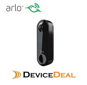 Arlo Video Doorbell Essential Wire-Free  - Black AVD2001B