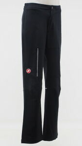 New! Castelli Men's Cycling Race Day Warm Up Pant Size XL Black/Red