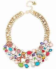 BETSEY JOHNSON 'Princess Charming' Cat Mouse Crown Shoe Collar Necklace $195