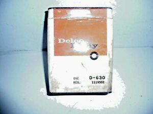 NOS Delco-Remy Voltage Regulator D-530 1119502