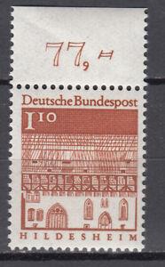 BRD 1966 Mi. Nr. 501 mit Oberrand Postfrisch LUXUS!!! (29731)