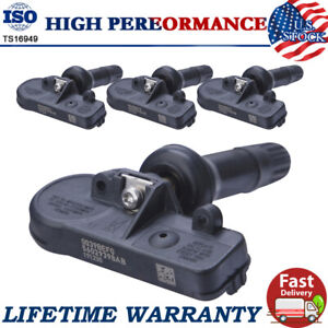 4X TPMS Tire Pressure Monitoring Sensor for GM Chevy GMC Buick 13586335/13598771