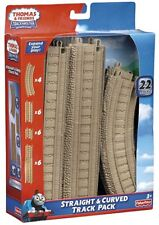 Thomas & Friends NEW Motorized Train Trackmaster Straight Curved Track 22 Pack