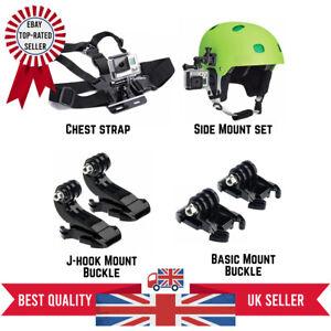 GoPro Hero Action Camera Outdoor Accessories Kit Helmet Mount Chest Strap Set