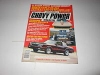 SUMMER 1985 CHEVY POWER vintage car magazine