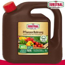 Substral Naturen 2L Plants Food Organic Nutrients Fruit Vegetables Herbs Flowers