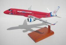 Virgin Blue Embraer ERJ-190 Desk Display Australia 1/100 Jet Model ES Airplane