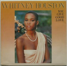 """WHITNEY HOUSTON You Give Good Love 1985 SPAIN White Label Promo 7"""" MINTY! 45 R&B"""