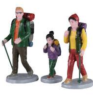 LEMAX-Family Trek-Holiday Village -3 piece set