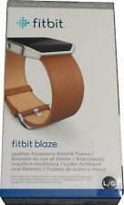 Fitbit Leather Accessory Band & Frame for Fitbit Blaze Camel Large FB159LBCML