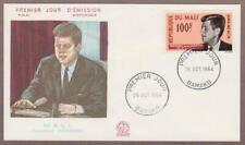 Mali Air Mail John F Kennedy # C24 , JFK FDC - I Combine S/H