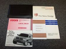 1999 Dodge Durango Owner Owner's Operator Guide Manual Set SLT 3.9L 5.2L 5.9L