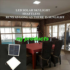 SOLAR SKYLIGHT 15 W LED SQUARE 300 MM / PATIOS/ALFRESCO/KITCHENS/WALK IN ROBES