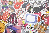 50pcs lot Vinyl Stickers Skate Graffiti Luggage Decal Car Bomb Decal Random