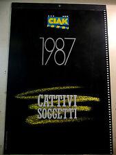 CATTIVI SOGGETTI - CALENDARIO CIAK 1987 A13