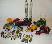 1987-88 HASBRO GI JOE Cobra Figures Accessories Vehicles Weapons LOT Free Ship