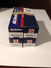 Spark Plug-Conventional ACDelco Pro R43XLS x 4