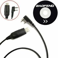 Baofeng UV-5R BF-888S Program Software CD & USB Programming Cable FREE SHIPPING