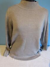 Womens Luara Scott  Sweater Size Large Sparkly Gray Color
