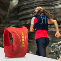 12L AONIJIE Marathon Running Hydration Vest Backpack for Cycling Hiking Climbing