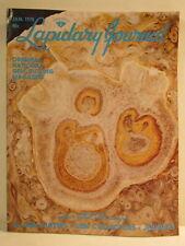 Lapidary Journal Magazine January 1978 Tempskya Fern Harnett County NC