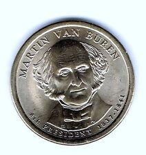 2008-P $1 Martin Van Buren Brilliant Uncirculated 8TH Presidential Dollar Coin!