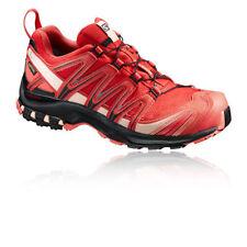 Zapatillas fitness/running de mujer planos de color principal rojo