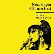 NINA HAGEN - ALL TIME BEST-RECLAM MUSIK EDITION 43  CD NEW+