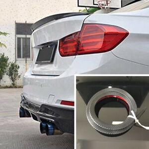 1.2M Universal Car Rear Roof Trunk Bonnet Hatch Gate Spoiler Wing Lip Sticker