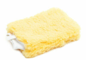 1 PROFESSIONAL LARGE SUPER SOFT SCRATCH FREE CAR WASH MITT SYNTHETIC LAMBS WOOL