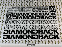 "DIAMONDBACK Stickers Decals Bicycles Bikes BMX MTB Cycles ""DIFFERENT COLORS"" 57A"