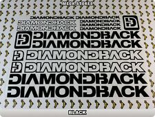 """DIAMONDBACK Stickers Decals Bicycles Bikes BMX MTB Cycles """"DIFFERENT COLORS"""" 57A"""