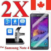 Premium Screen Protector Cover for Samsung Galaxy Note 4 (2 Pack)