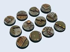 Micro Art Studio BNIB - Tech Bases, Round 25mm (5)
