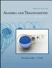 Algebra and Trigonometry with Analytic Geometry by Earl Swokowski book