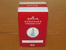 Hallmark Ornament Barbie - Blue Chiffon Fashion Collection Koc Member Exclusive