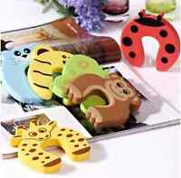 5 x Baby Child Kids Animal Door Stopper Jammer Safety Finger Protector Guard JD