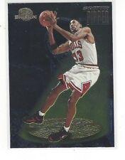1995-96 SKYBOX PREMIUM BASKETBALL STANDOUTS SCOTTIE PIPPEN #S2 - CHICAGO BULLS