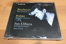 NEW CD VAN CLIBURN BEETHOVEN Piano Concerto No.3 BRAHMS Rhapsodies Intermezzos