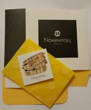 Nomination Bracelet Gift Box Genuine Packaging Charms