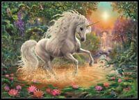 Mystical Unicorn - Chart Counted Cross Stitch Pattern Needlework Xstitch craft