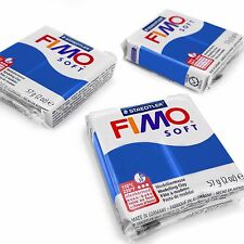 Set of 3 FIMO Soft Polymer Oven Modelling Clay - 57g - Most Popular Colours
