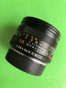 Leica Summicron R 2,0 50mm. Made in Germany. Near Mint.