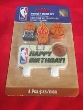 NBA BIRTHDAY CANDLE SET  BASKETBALL