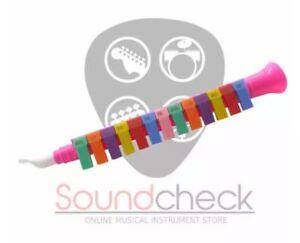 Soundcheck Children 13 keys music clarinet flute toy (Pink)