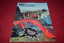 Massey Ferguson Loaders & Manure Spreaders Dealer's Brochure DCPA6
