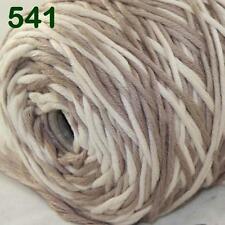 Sale New 1 Cone x 400g Soft Baby Cotton Chunky Super Bulky Hand Knitting Yarn 41