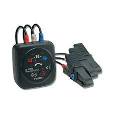 Hioki 3129 Phase Rotation Meter, Easy-to-Read Arrow & Non-Metallic Contact