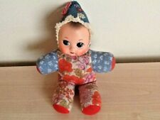 "CUTE RUBBER FACED CLOTH BODIED ""KEWPIE DOLL"" VERY GOOD CLEAN CONDITION"